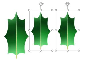 葉のサイズを調整
