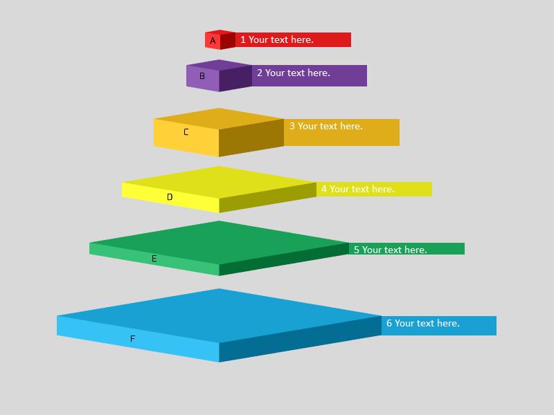 ピラミッド図を作る8